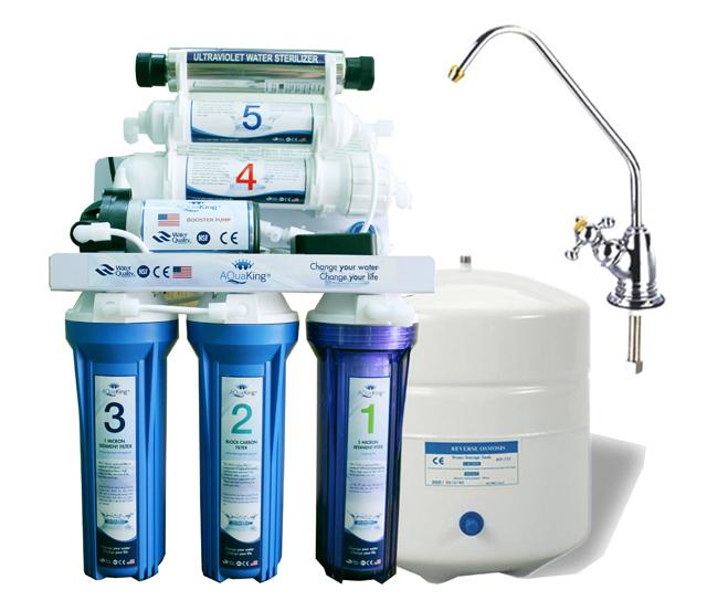 Máy lọc nước RO 6 cấp với đèn cực tím UV