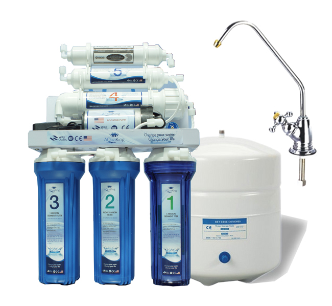 Máy lọc nước RO 6 cấp NANO SILVER