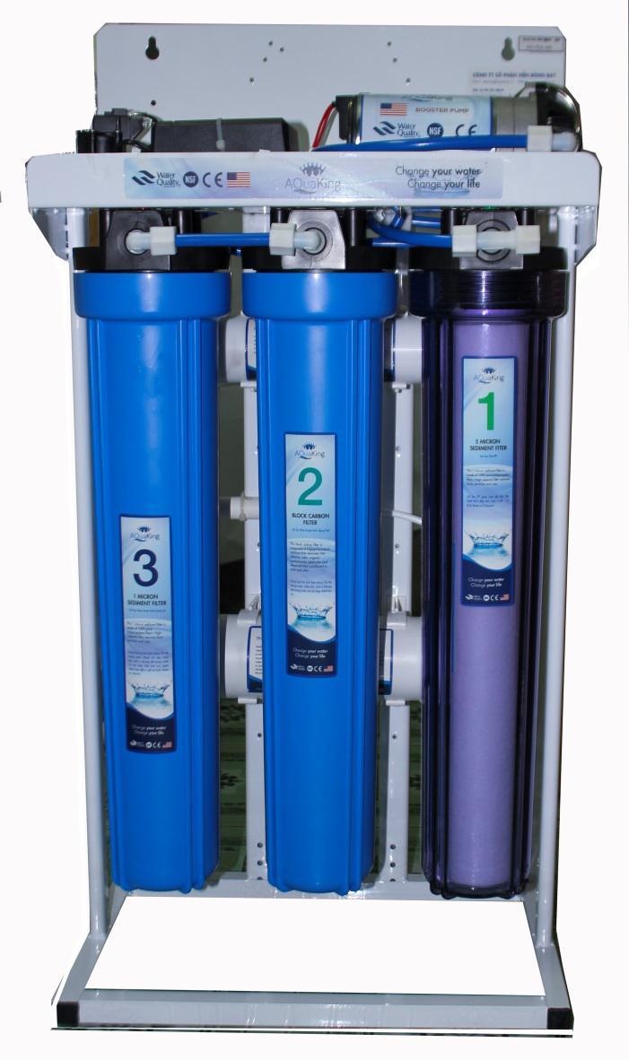 Máy lọc nước R.O Công suất lớn 35 lit/giờ